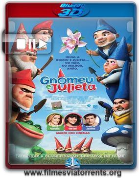 Gnomeu e Julieta Torrent - BluRay Rip 1080p 3D HSBS Dublado