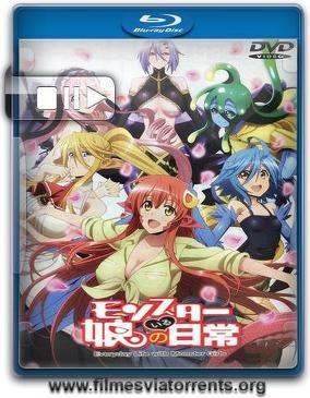 Monster Musume no Iru Nichijou 1ª Temporada (Sem Censura) Torrent – BluRay Rip 1080p Legendado