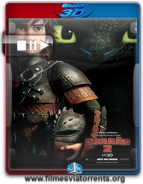 Como Treinar o Seu Dragão 2 BluRay 3D HSBS