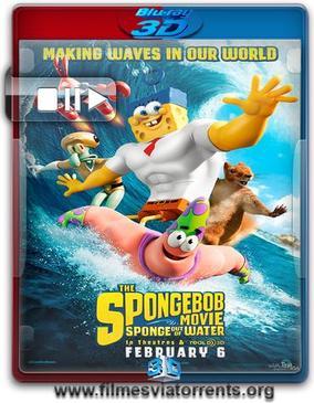 Bob Esponja: Um Herói Fora d'Água Torrent - BluRay Rip 1080p 3D HSBS Dublado 5.1