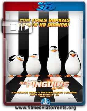 Os Pinguins de Madagascar Torrent - BluRay Rip 1080p 3D HSBS Dublado 5.1