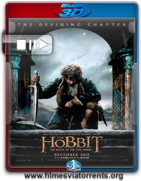 O Hobbit: A Batalha dos Cinco Exércitos Torrent - BluRay Rip 1080p 3D HSBS Dual Áudio 5.1