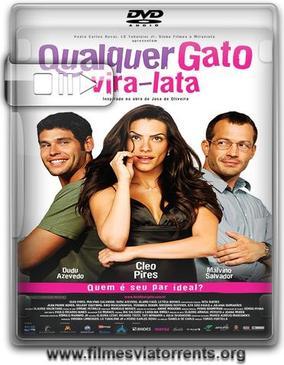 Qualquer Gato Vira-Lata Torrent - DVDRip Nacional