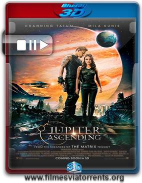 O Destino de Júpiter Torrent - BluRay Rip 1080p 3D HSBS Dublado 5.1