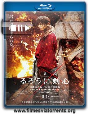 Samurai X - O Inferno de Kyoto Torrent - BluRay Rip 720p | 1080p Dual Áudio