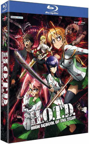 high school of the dead blu-ray