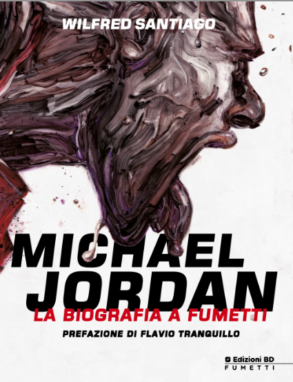michael jordan biogafia a fumetti variant