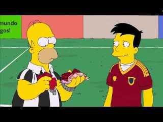 Los Simpsons capitulo Mundial Brasil 2014