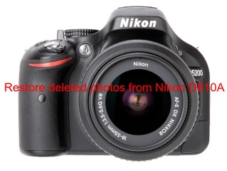 Restore deleted photos from Nikon D810A