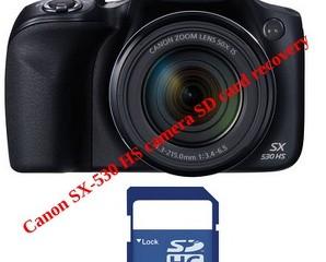 Canon SX-530 HS camera SD card recovery