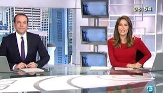 Roberto Fernández y Leticia Iglesias