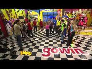 Las chicas de Acábatelo en reta de baile