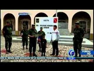 Niño soldado mexicano