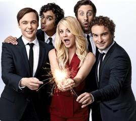 The Big Bang Theory celebrando