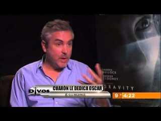 Alfonso Cuarón dedica el Oscar a su Mamá