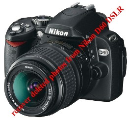 recover deleted photos from Nikon D60 DSLR