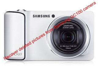 Recover deleted pictures from Samsung GC100 camera