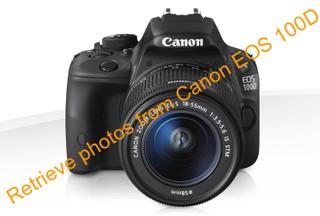 Retrieve deleted photos from Canon EOS 100D