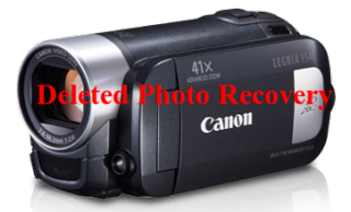 recover deleted pictures from Canon handy cam