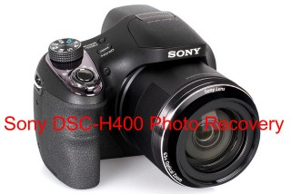 Sony DSC-H400 Photo Recovery