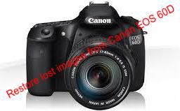 Restore lost images from Canon EOS 60D