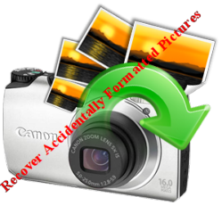 Canon powershot formatted SD card recovery