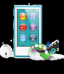 Obtenir les données de l'iPod qui se arrête de travail