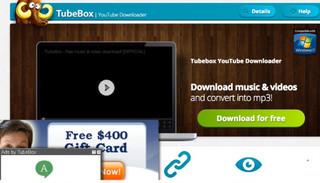 TubeBox Anzeigen