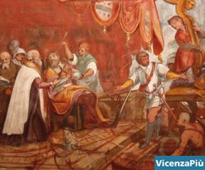 Il doge Agostino ferito a morte nella battaglia di Lepanto