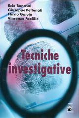 Libro tecniche investigative