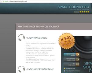 SpaceSoundPro Anzeigen