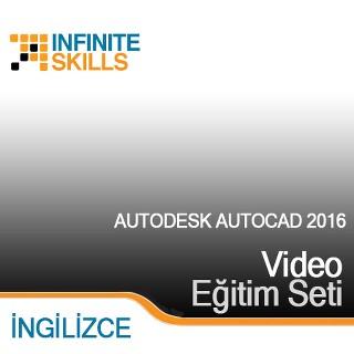 InfiniteSkills.com Video Eğitim Seti - Autodesk AutoCAD 2016 - İngilizce