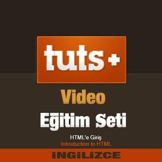 TutsPlus.com Video Eğitim Seti - HTMLe Giriş - İngilizce