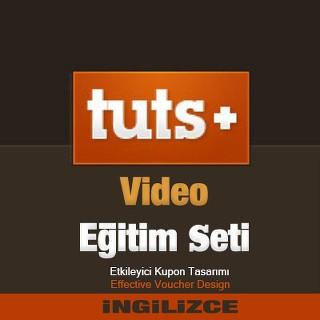 TutsPlus.com Video Eğitim Seti - Etkileyici Kupon Tasarımı - İngilizce