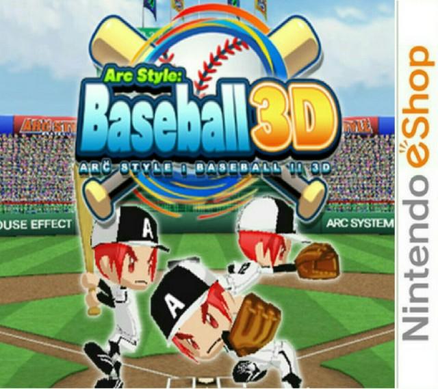 Arc Style : Baseball 3D.EUR.eShop.3DS