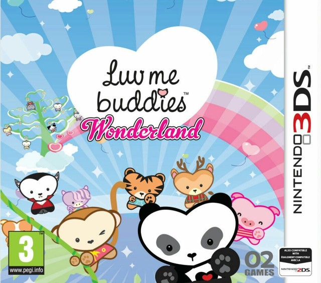 Luv Me Buddies Wonderland.EUR.MULTi5.3DS-PUSSYCAT