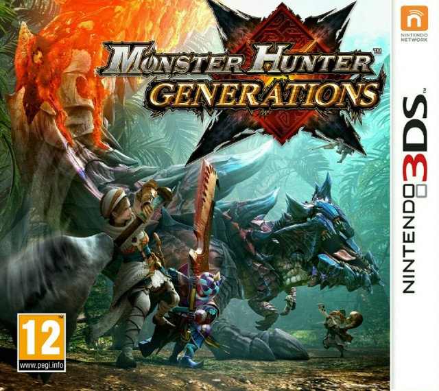 Monster Hunter Generations [CIA]