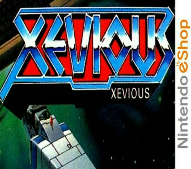 3D Classics : Xevious [CIA]