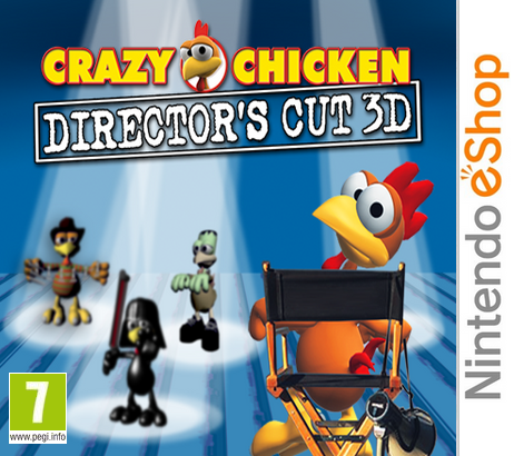 Crazy Chicken : Director's Cut 3D [CIA]