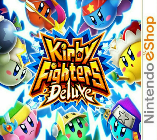 Kirby Fighters Deluxe [CIA]