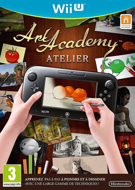 Art Academy : Atelier (WUP Install)