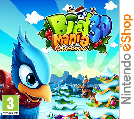 Bird Mania Christmas 3D [CIA]