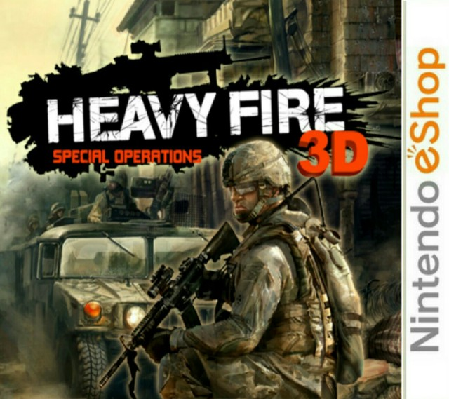 Heavy Fire : Special Operations 3D [CIA]