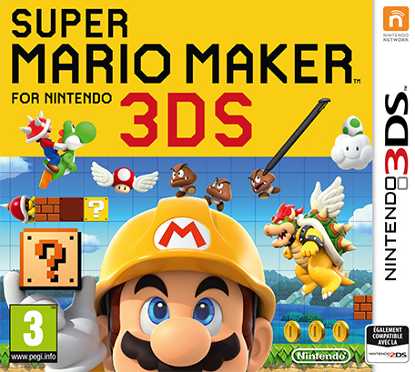 Super Mario Maker for 3DS [DECRYPTED]