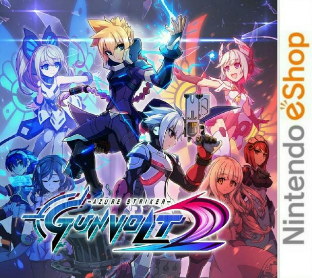 Azure Striker : Gunvolt 2.EUR.eShop.3DS