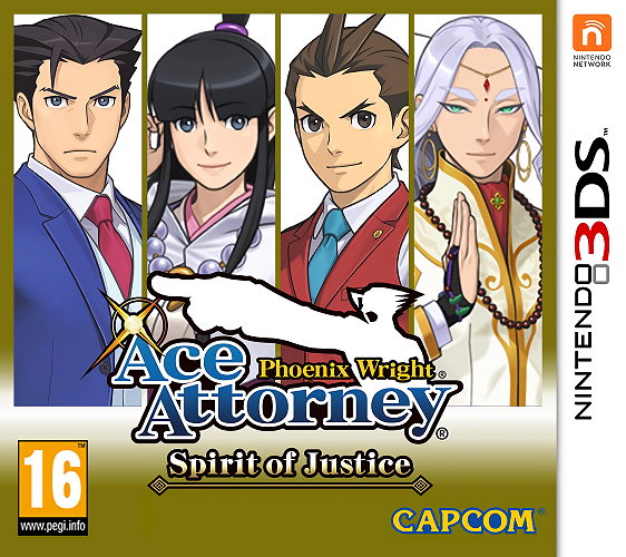 Phoenix Wright Ace Attorney : Spirit of Justice.EUR.3DS