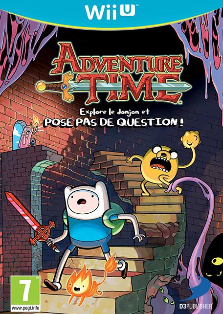 Adventure Time : Explore le Donjon et POSE PAS DE QUESTIONS! (WUP Install)