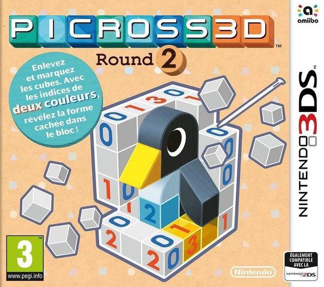 Picross 3D : Round 2.EUR.MULTi5.3DS-PUSSYCAT