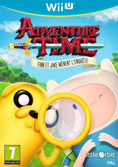Adventure Time : Finn et Jake mènent l'Enquête (WUP Install)