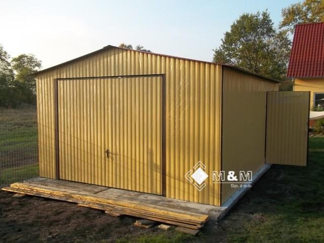 garagen blechgaragen blechhalle fertiggaragen 4x5x2 65 in. Black Bedroom Furniture Sets. Home Design Ideas